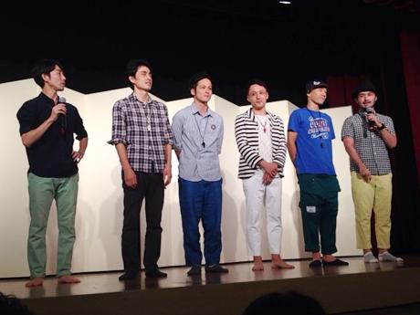 即興パフォーマンス集団ロクディム(2015年東洋館での公演)